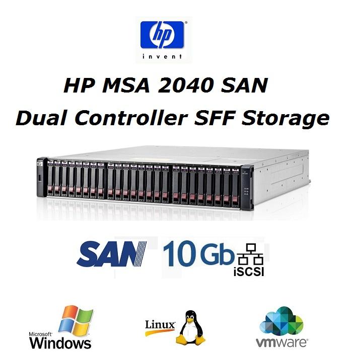 HP MSA 2040 SAN Dual Controller SFF Storage(C8R15A)