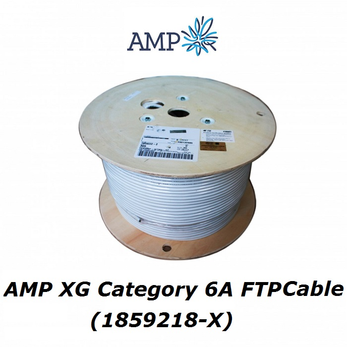 AMP XG Category 6A FTP Cable (1859218-X)