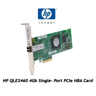 HP QLE2460 4Gb Single- Port PCIe HBA Card