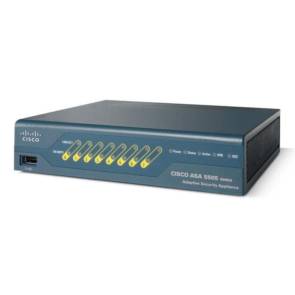 Unlimited-User Security Plus Bundle Cisco ASA5505-SEC-BUN-K9 ASA 5500 Firewall